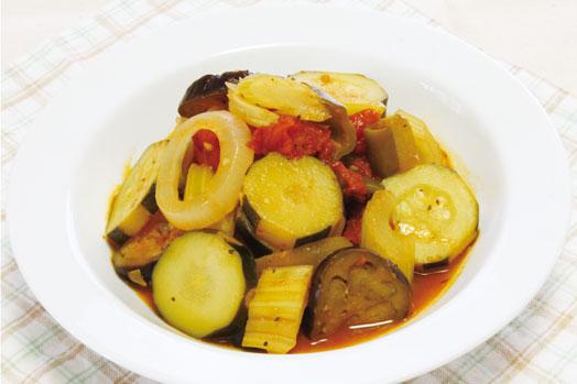 地元の露地もの夏野菜をたっぷり使って♥ラタトゥイユ