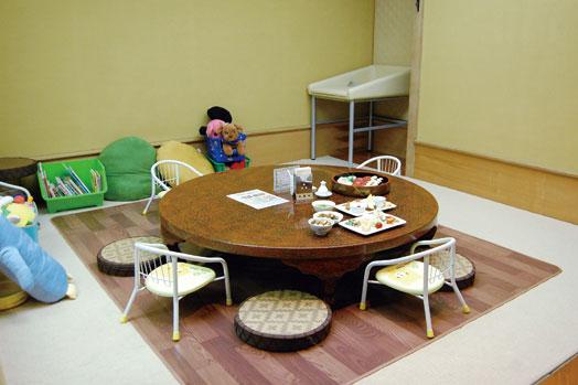 予約優先の人気の「お座敷ルーム」。子どもを含めた5~10人で貸し切りできます